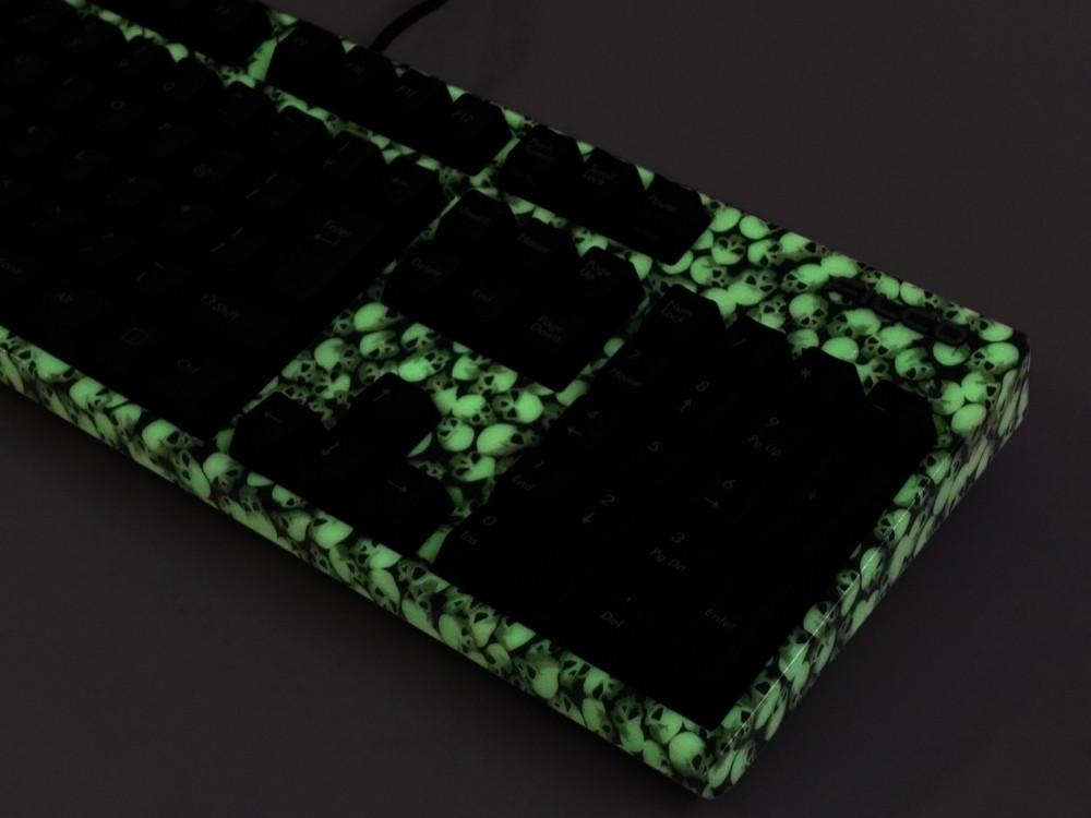Luminous Skull Case UK Filco Majestouch-2 MX Red Soft Linear Keyboard