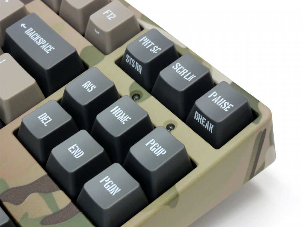 Filco Majestouch 2 Camouflage-R, Tenkeyless, MX Brown Tactile, USA Keyboard, picture 9