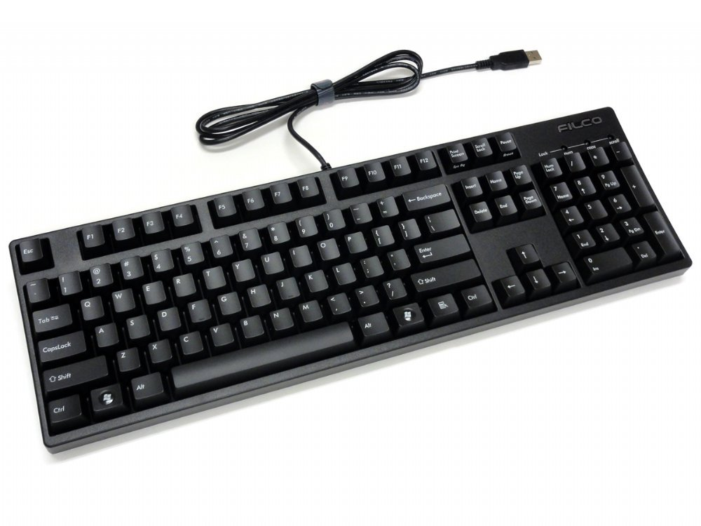 Filco Majestouch-2, MX Blue Click, USA Keyboard