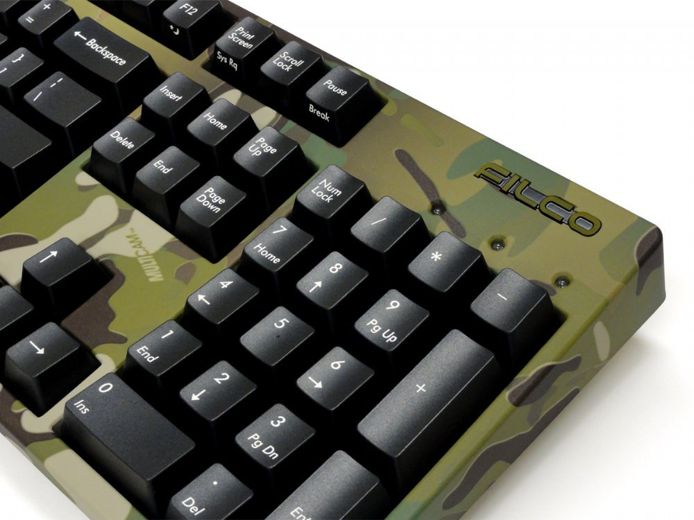 Camo Filco Majestouch-2, NKR, Tactile Action, USA Keyboard