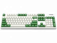 Filco Convertible 2 USA ASCII Cream and Green Keyboards