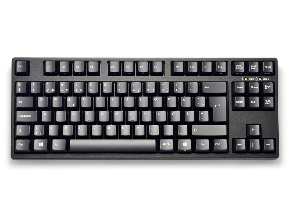 Filco Convertible 2 Tenkeyless Tactile Action Swedish/Finnish ISO Keyboard