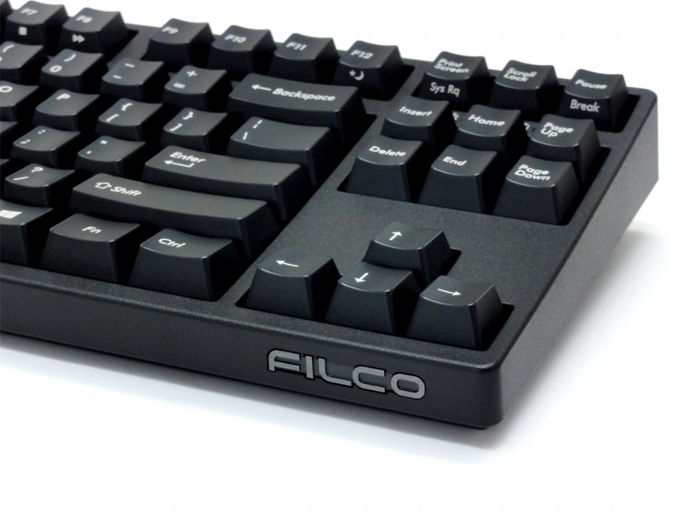 Filco Convertible 2 Tenkeyless Tactile Action USA ASCII Keyboard