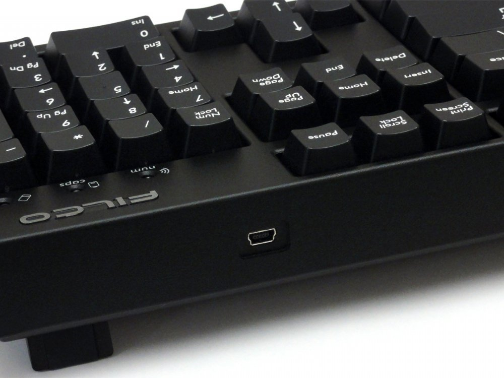 UK Filco Convertible 2 Click Action Keyboard