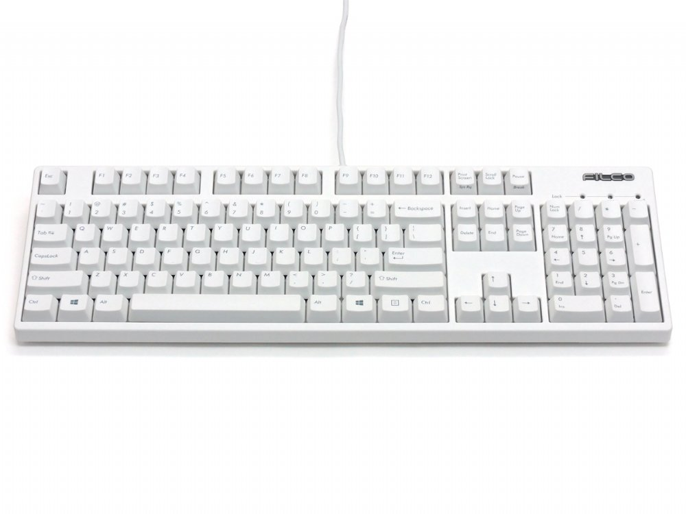Filco Majestouch 2 HAKUA, NKR, Silent Soft Linear Action, USA Keyboard