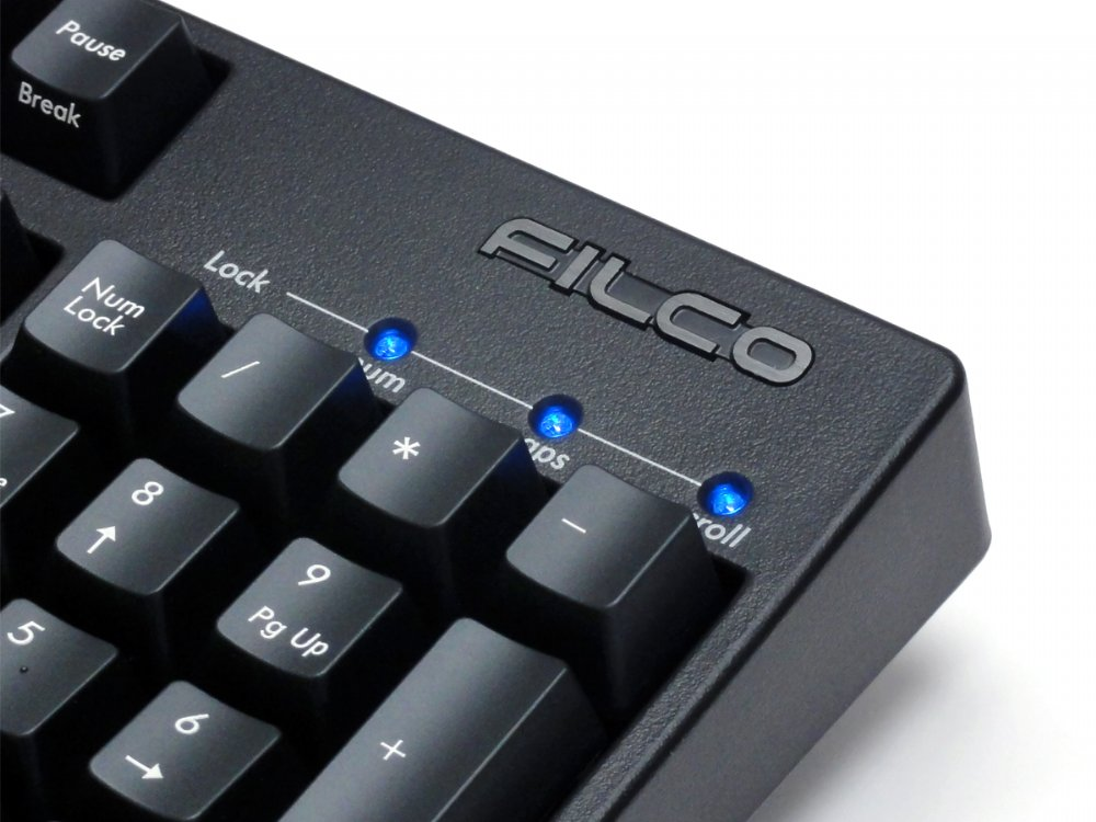 Filco Majestouch 2 S, NKR, Silent Soft Linear Action, USA Keyboard