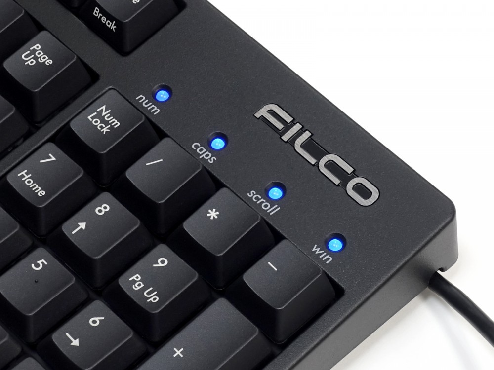 Filco Majestouch STINGRAY MX Low Profile Red Linear USA Keyboard
