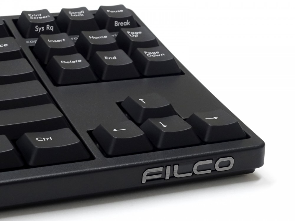 Filco Majestouch STINGRAY Tenkeyless MX Low Profile Red Linear USA Keyboard