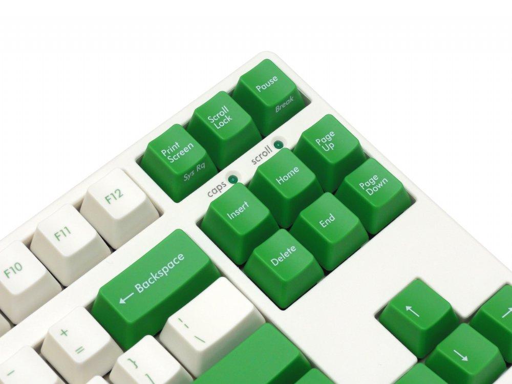 Filco Majestouch-2, Tenkeyless, MX Brown Tactile, USA, Cream and Green Keyboard