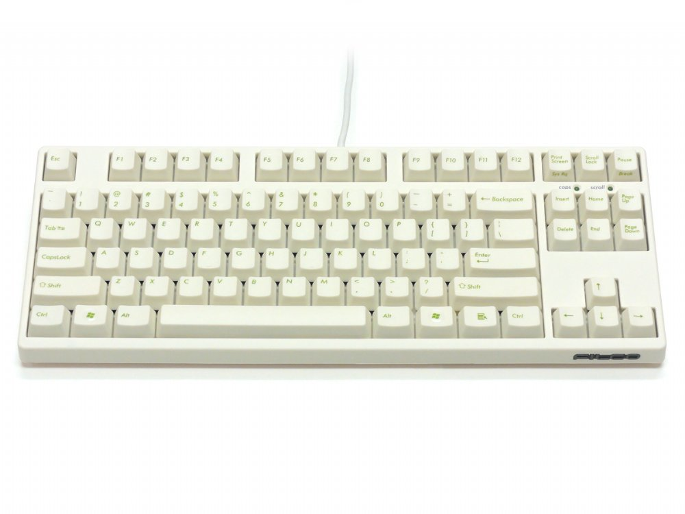 Filco Majestouch-2, Tenkeyless, NKR, Click Action, USA, Cream Keyboard, picture 1