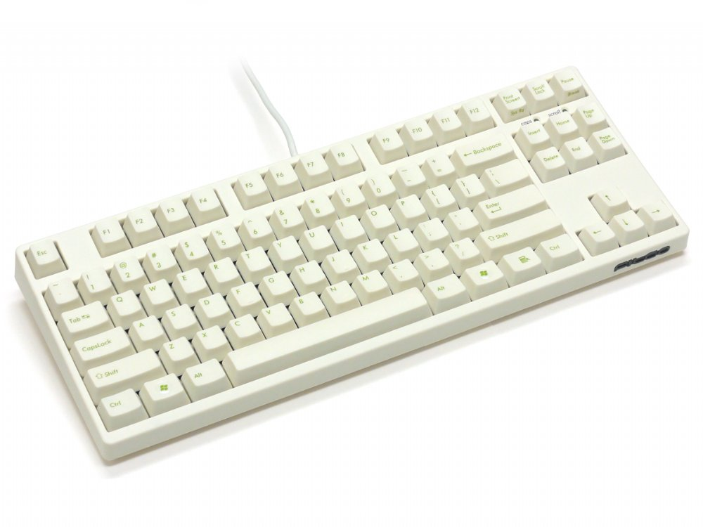 Filco Majestouch-2, Tenkeyless, NKR, Click Action, USA, Cream Keyboard, picture 4