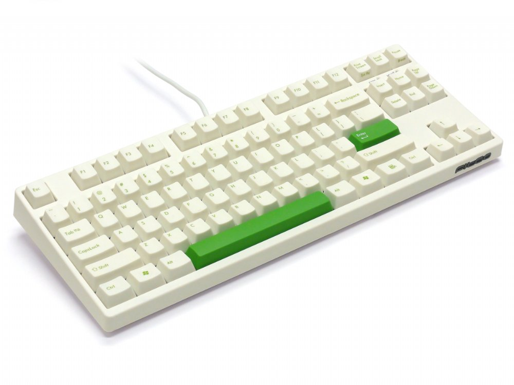 Filco Majestouch-2, Tenkeyless, NKR, Tactile Action, USA, Cream Keyboard, picture 7