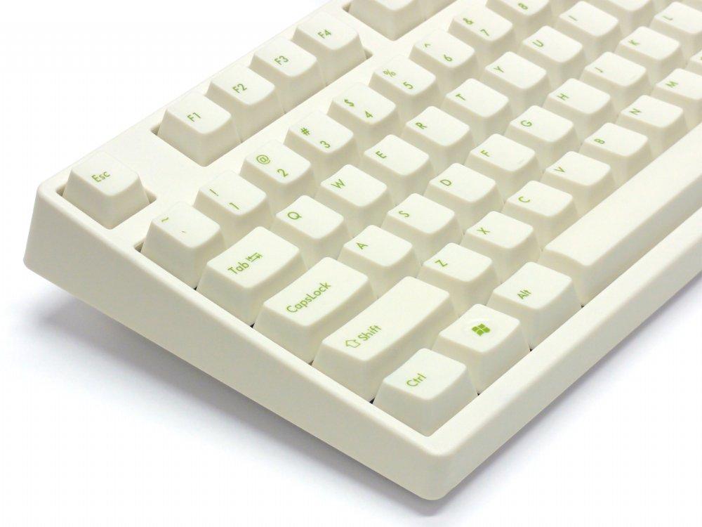 Filco Majestouch-2, Tenkeyless, MX Blue Click, USA, Cream Keyboard