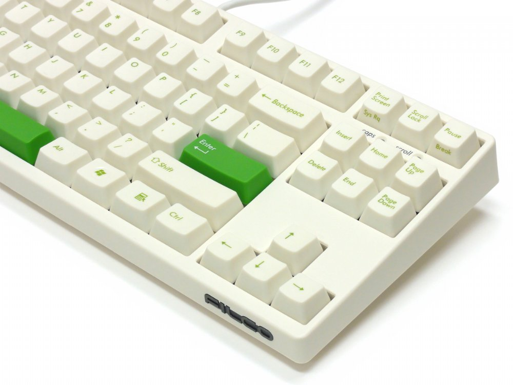 Filco Majestouch-2, Tenkeyless, NKR, Tactile Action, USA, Cream Keyboard, picture 12