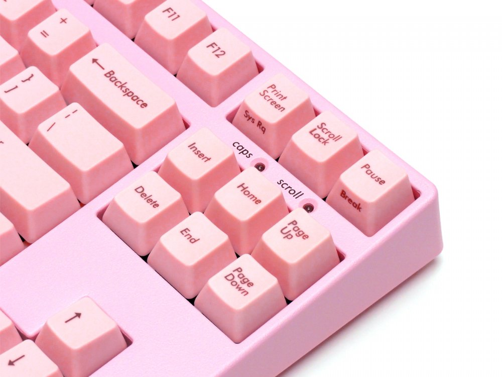 Filco Majestouch-2 Pink, Tenkeyless, MX Brown Tactile, USA Keyboard
