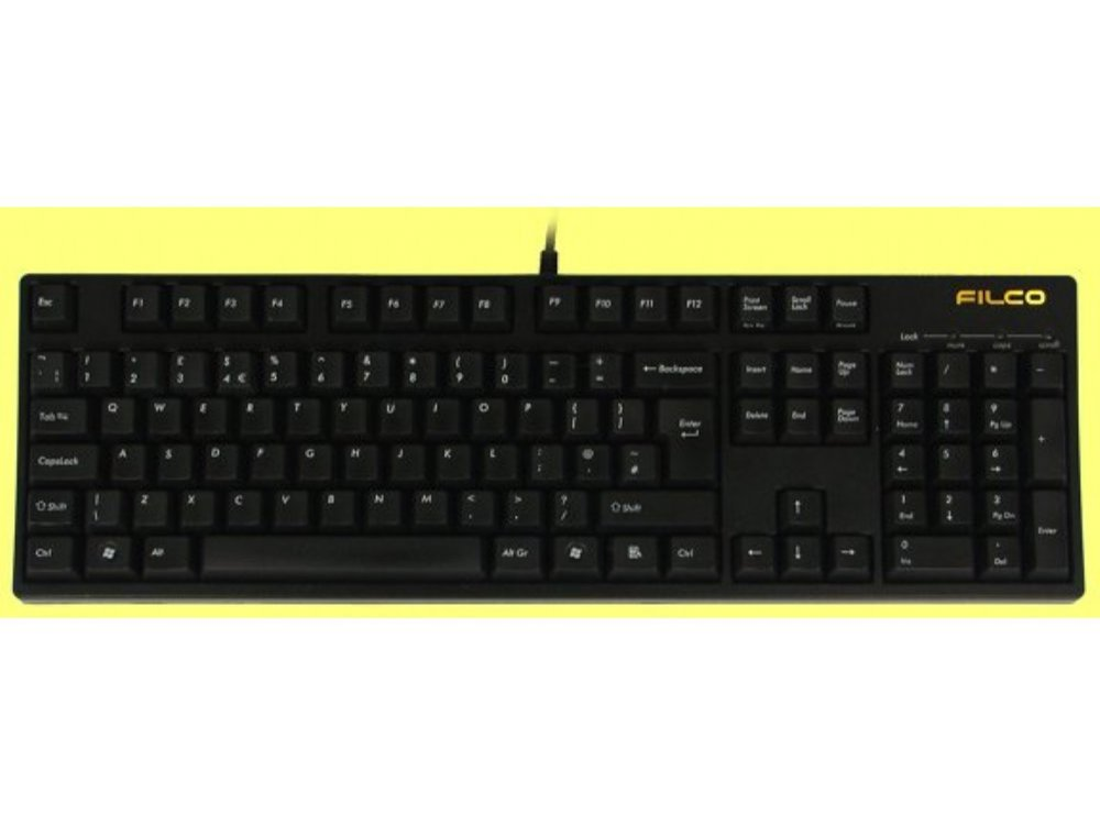 UK Filco Majestouch, MX Black Linear Keyboard