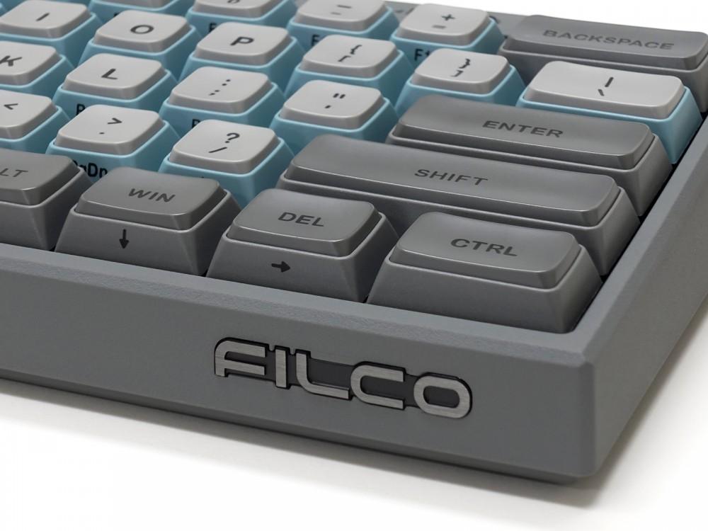 USA Majestouch MINILA-R Convertible Sky Gray MX Brown Tactile Keyboard