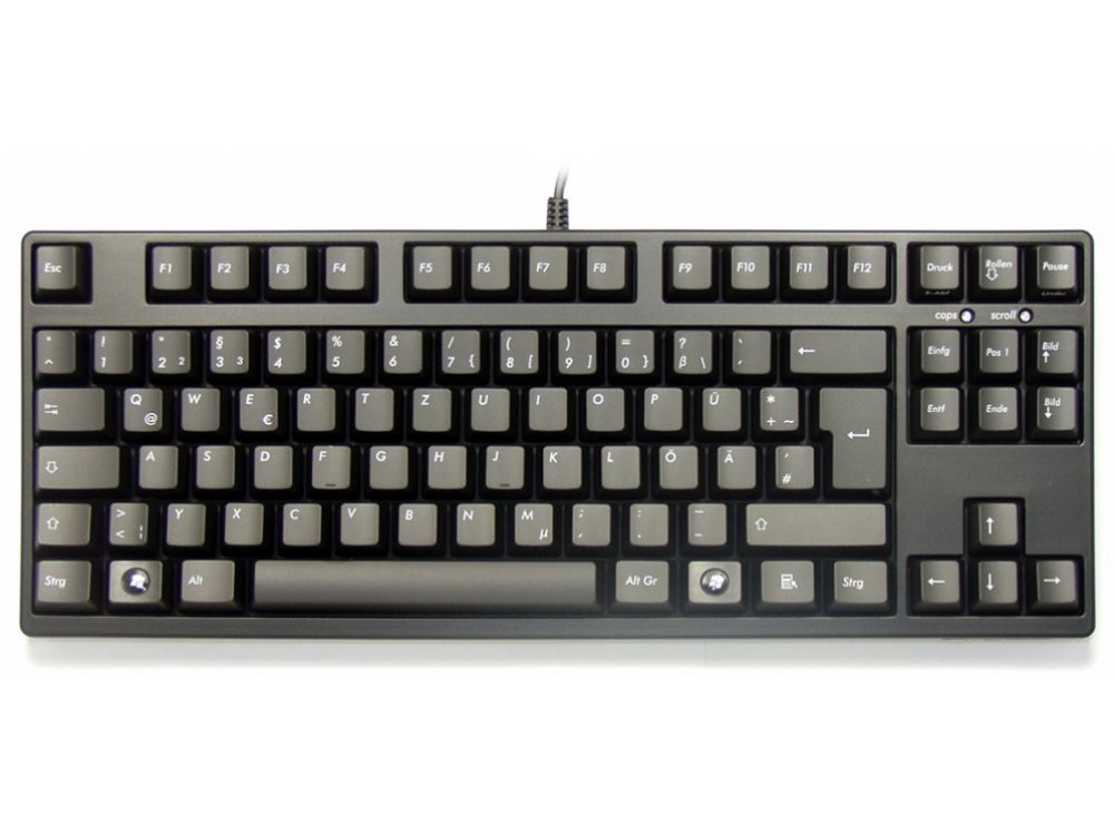 German Filco Majestouch-2, Tenkeyless, NKR, Linear Action, Keyboard