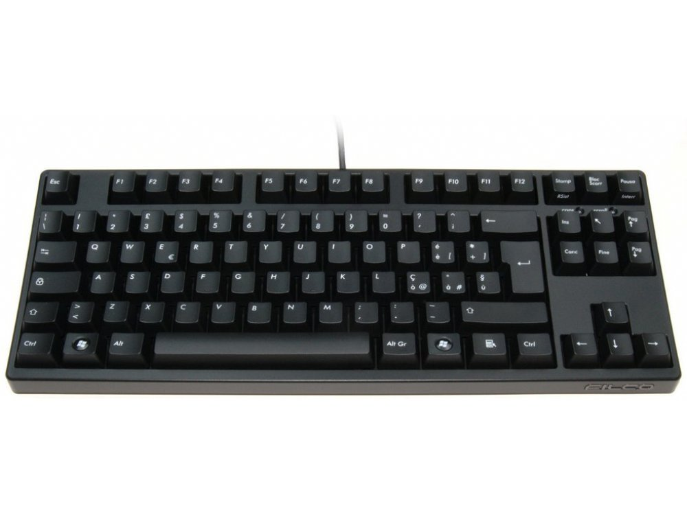 Italian Filco Majestouch-2, Tenkeyless, NKR, Linear Action, Keyboard