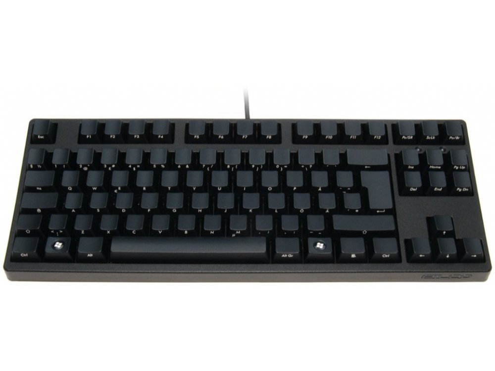 Swedish/Finnish Filco Ninja Majestouch-2, Tenkeyless, NKR, Tactile Action, Keyboard