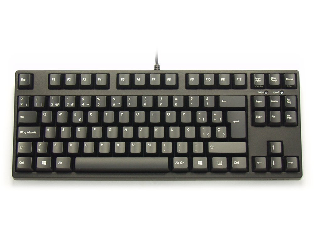 Spanish Filco Majestouch-2, Tenkeyless, MX Brown Tactile, Keyboard, picture 1