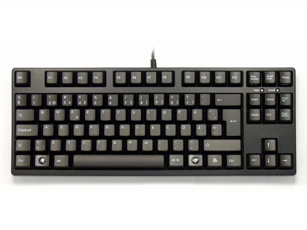 Swedish/Finnish Filco Majestouch-2, Tenkeyless, NKR, Click Action, Keyboard