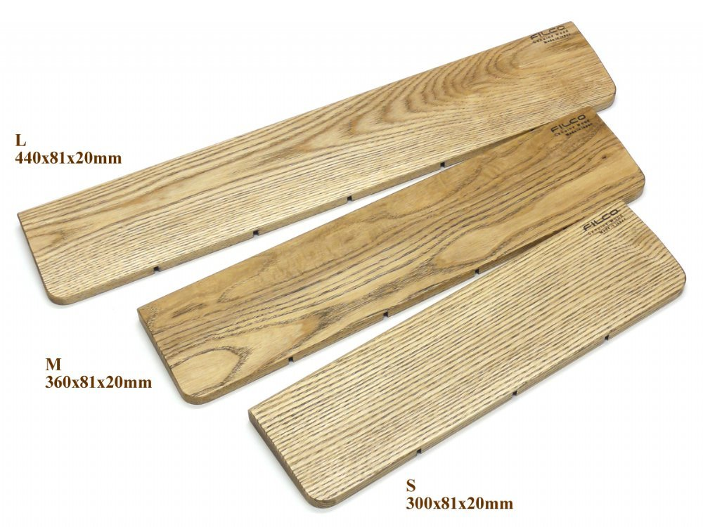 Filco Wood Palm Rest for Standard Keyboards, picture 2