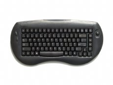 Freeboard, Mini, Wireless, Black, USB Keyboard with built in Trackball
