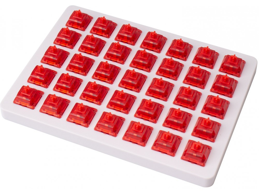 Gateron Ink V2 Red Switch Set and Holder 35