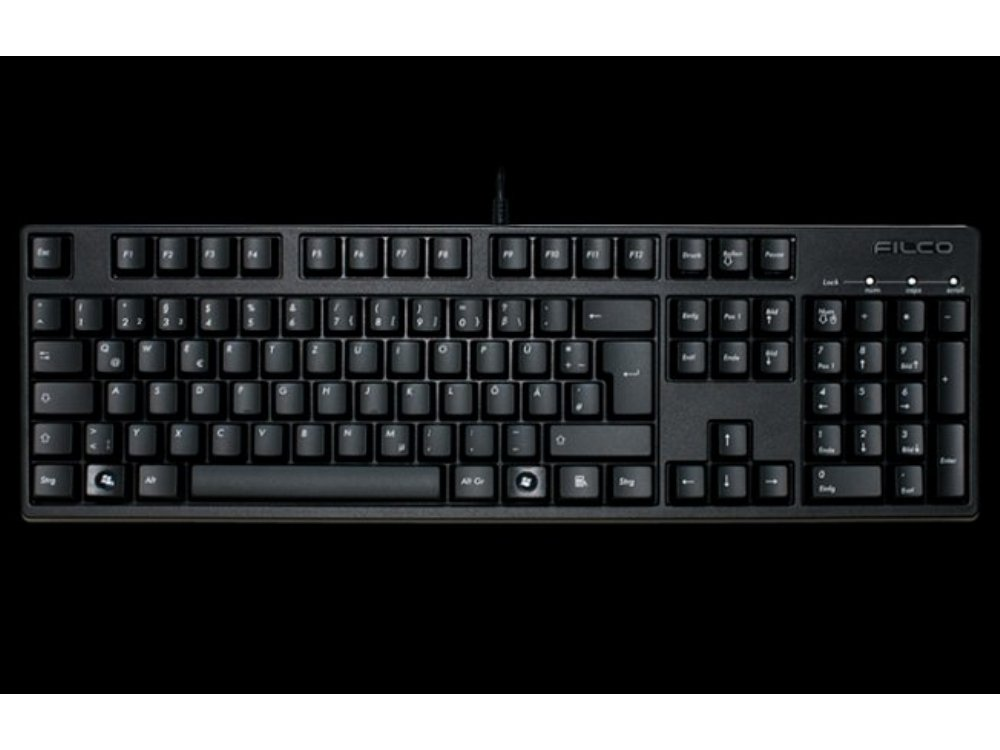 German Filco Majestouch-2, NKR, Soft Linear Action Keyboard