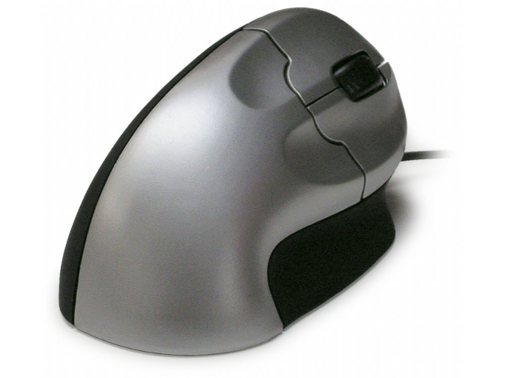Vertical Grip mouse, optical, PS/2 and USB
