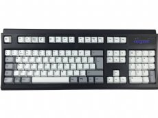 IBM Style Spacesaver Mac Black Buckling Spring Keyboard