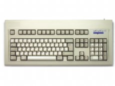 Original IBM style keyboard, beige PS/2