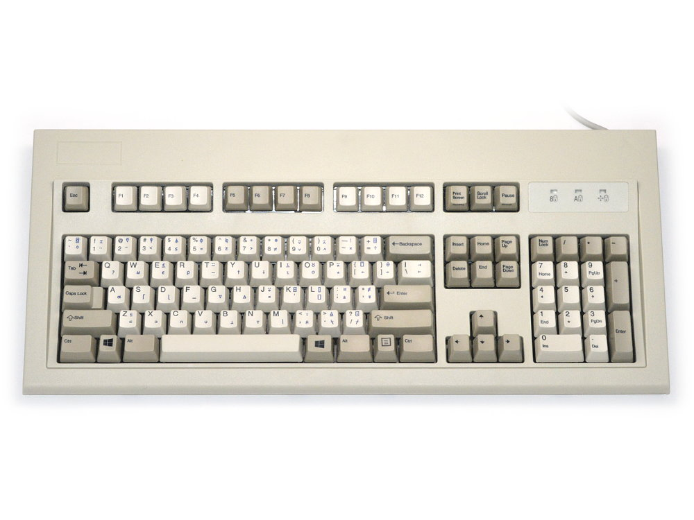 APL USA Original IBM Style Keyboard Beige USB, picture 1