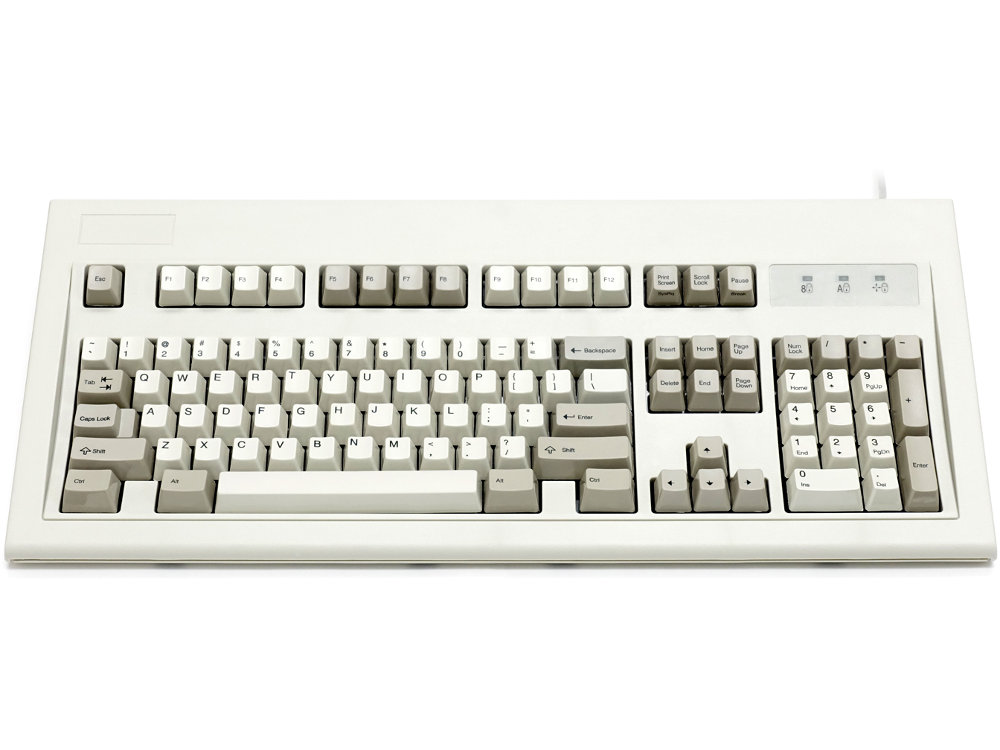 USA Original IBM Style Keyboard Beige USB, picture 1