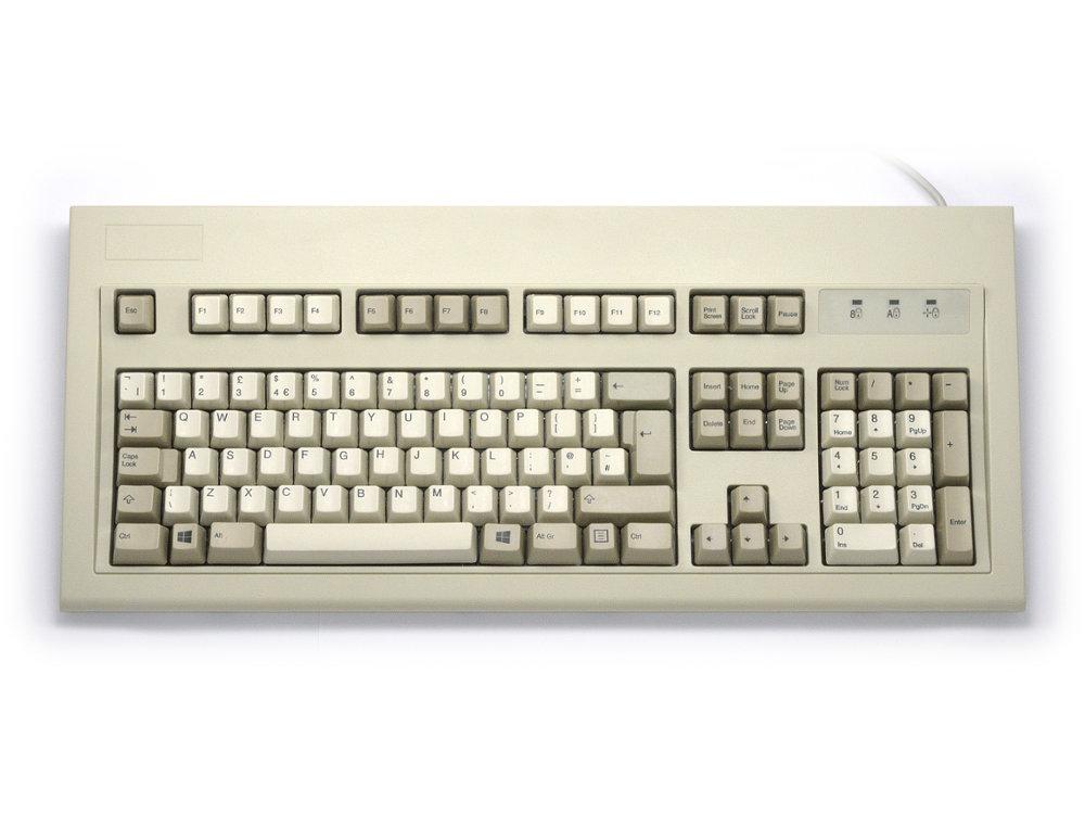 Original IBM Style Keyboard, Beige USB