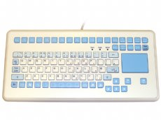 InduKey InduMedical - Rugged Keyboard with Antimicrobial Surface and Touchpad IP65