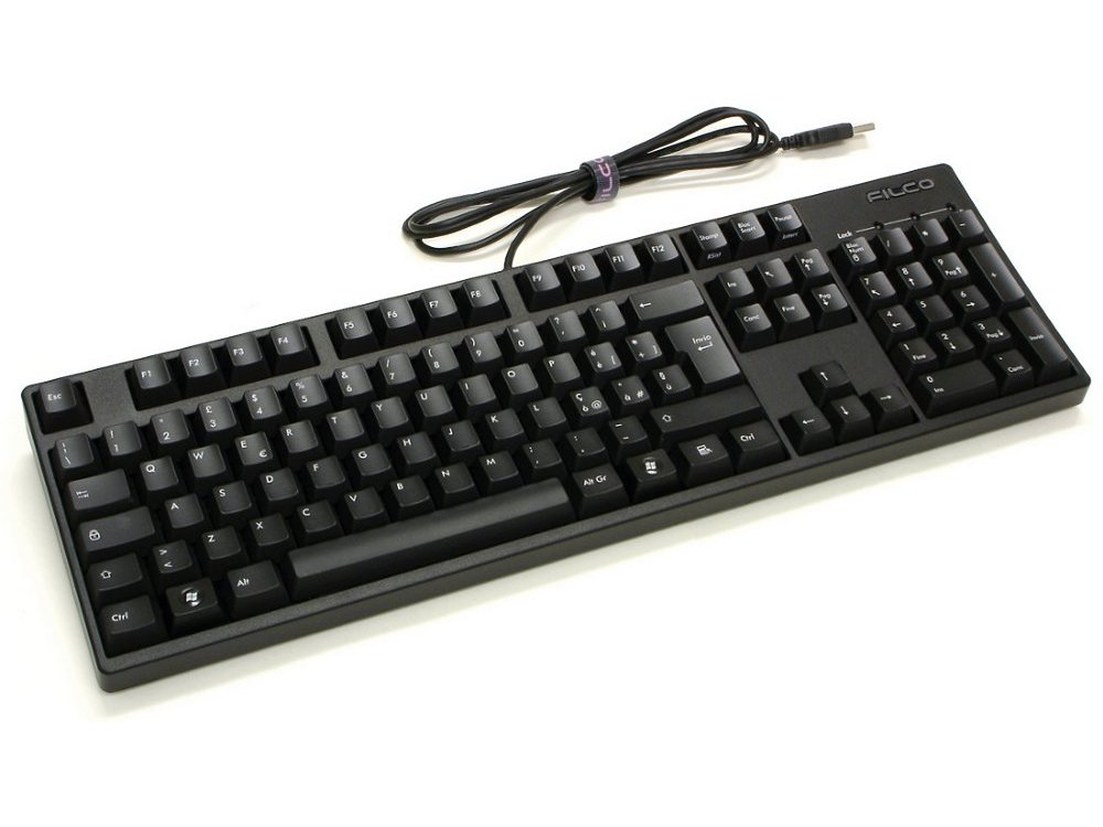 Italian Filco Majestouch-2, MX Black Linear Keyboard, picture 1