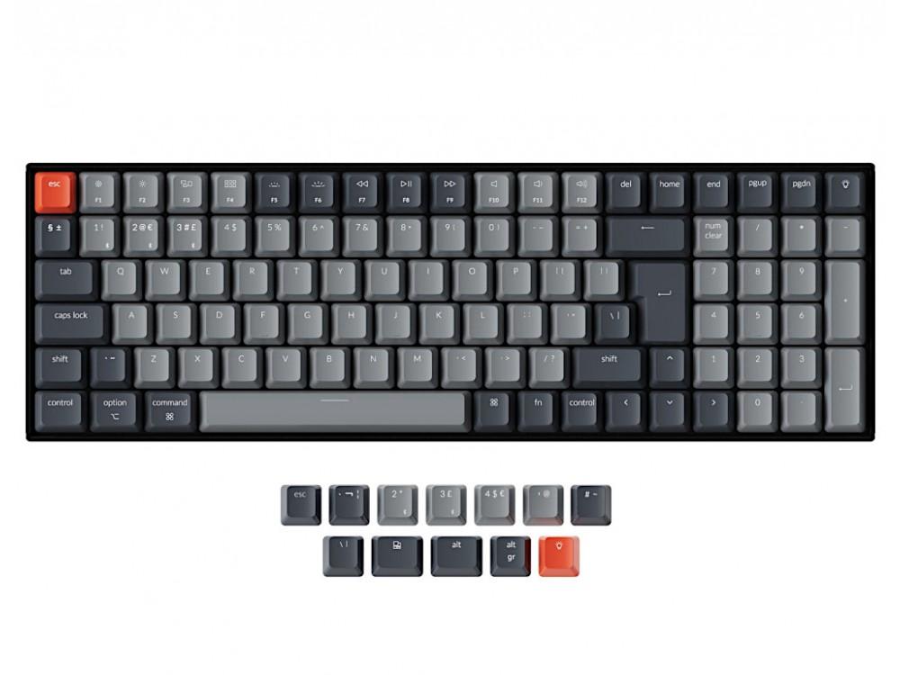 UK Keychron K4 Bluetooth Backlit Tactile Mac/PC Keyboard