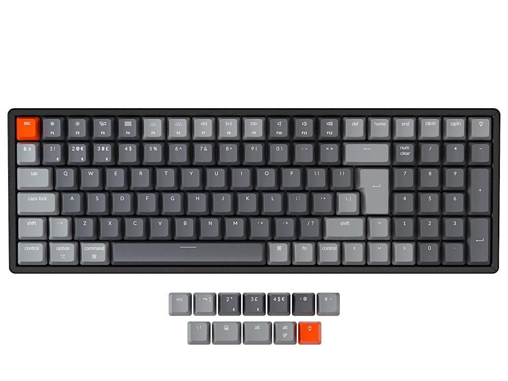 UK Keychron K4 Bluetooth RGB Backlit Tactile Aluminium Mac/PC Keyboard