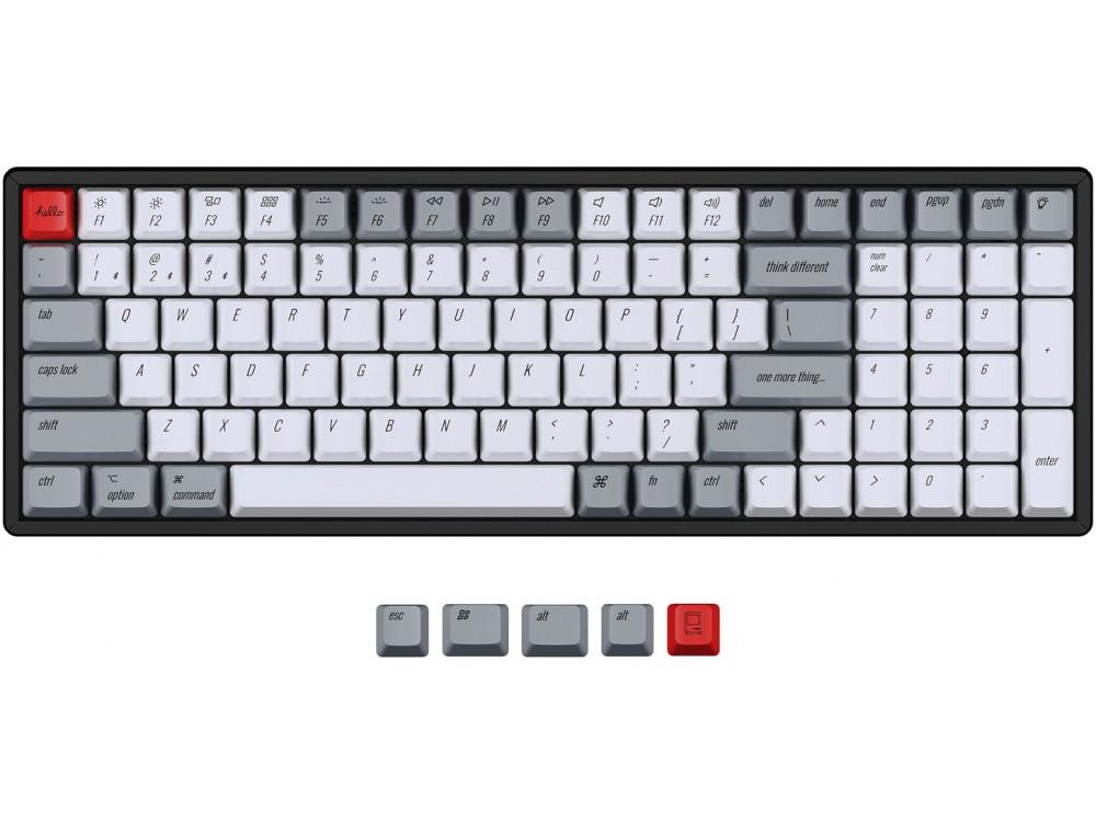 USA Keychron K4 OEM Dye-Sub PBT Keycap Set Retro