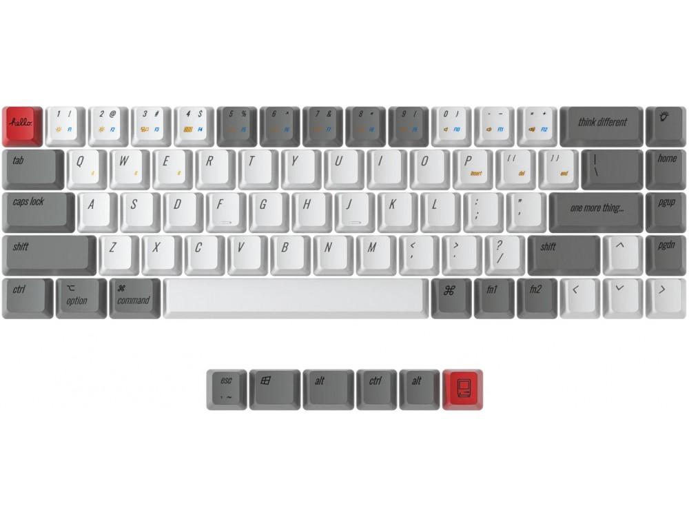 USA Keychron K6 OEM Dye-Sub PBT Keycap Set Retro