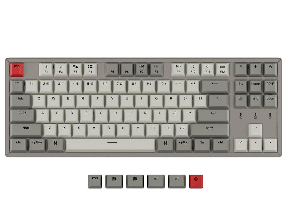USA Keychron K8 Bluetooth Tactile Aluminium Mac/PC Keyboard