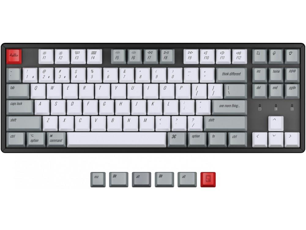 USA Keychron K8 OEM Dye-Sub PBT Keycap Set Retro