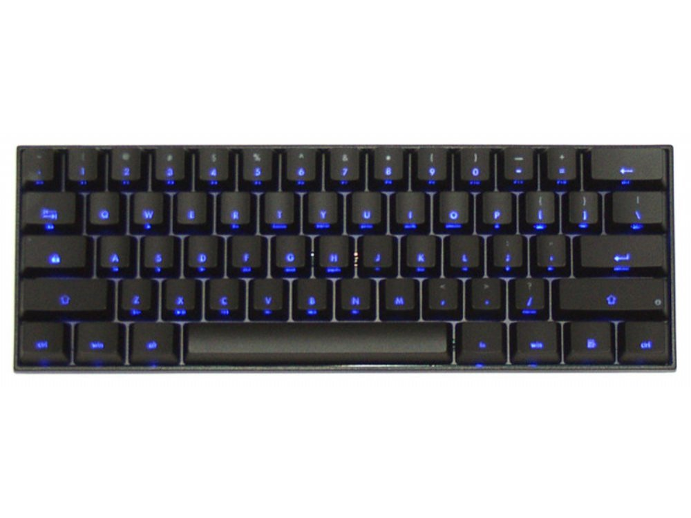 USA V60 Dual Backlit 60% Hard Tactile Keyboard