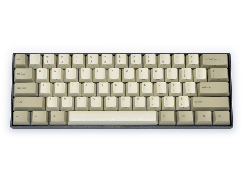 USA V60R Programmable Vintage 60% Matias Quiet Click Keyboard, picture 1