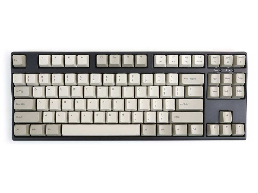 USA V80 Tenkeyless Hard Tactile Vintage Keyboard
