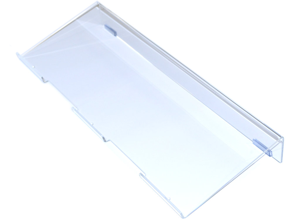 Ergonomic Keyboard Riser Clear Large, picture 1