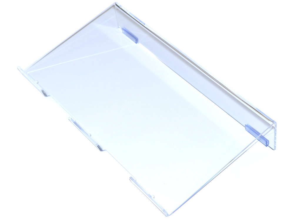Ergonomic Keyboard Riser Clear Small
