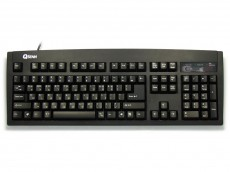 Korean Keyboard, Black, USB
